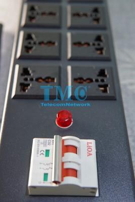 Thanh Nguồn PDU 12 Cổng Đa Năng Chuẩn 19inch