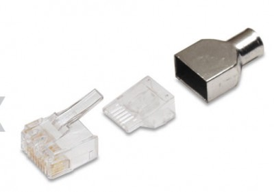 AMP Category 6 Modular Plug, RJ45,...